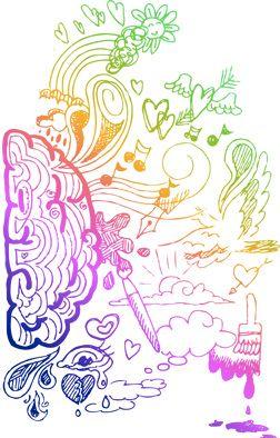 desna možganska polovica