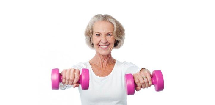Napotki za vadbo z utežmi za starejše