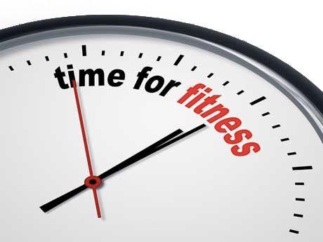 Čas za fitnes
